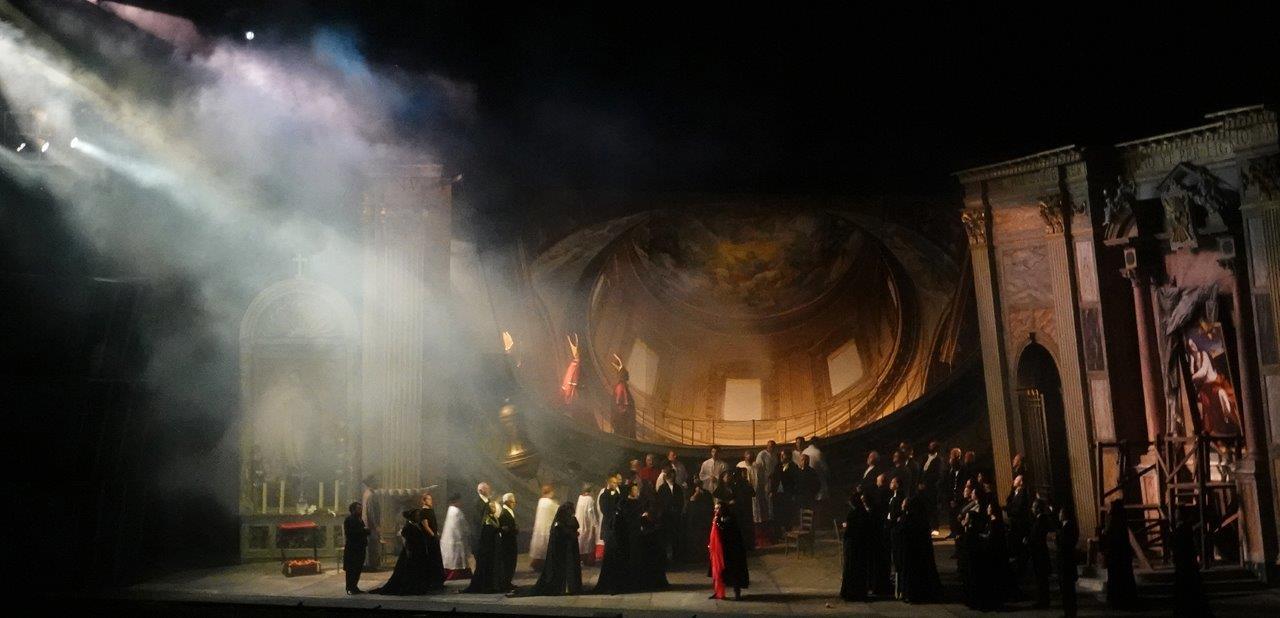 Tosca torna in scena a Torre del Lago: ultima replica della stagione 2018