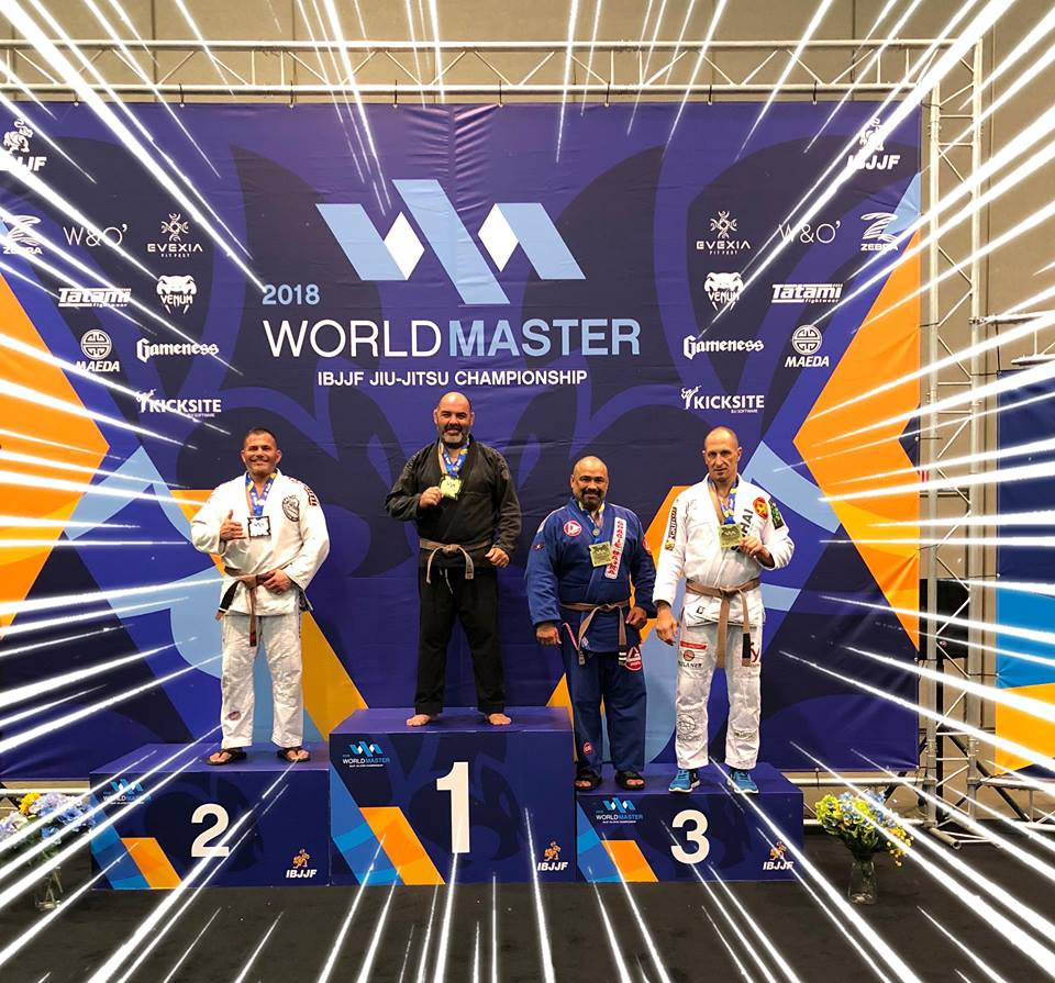 Ju Jitsu, Giuseppe Volo (ancora) campione del mondo
