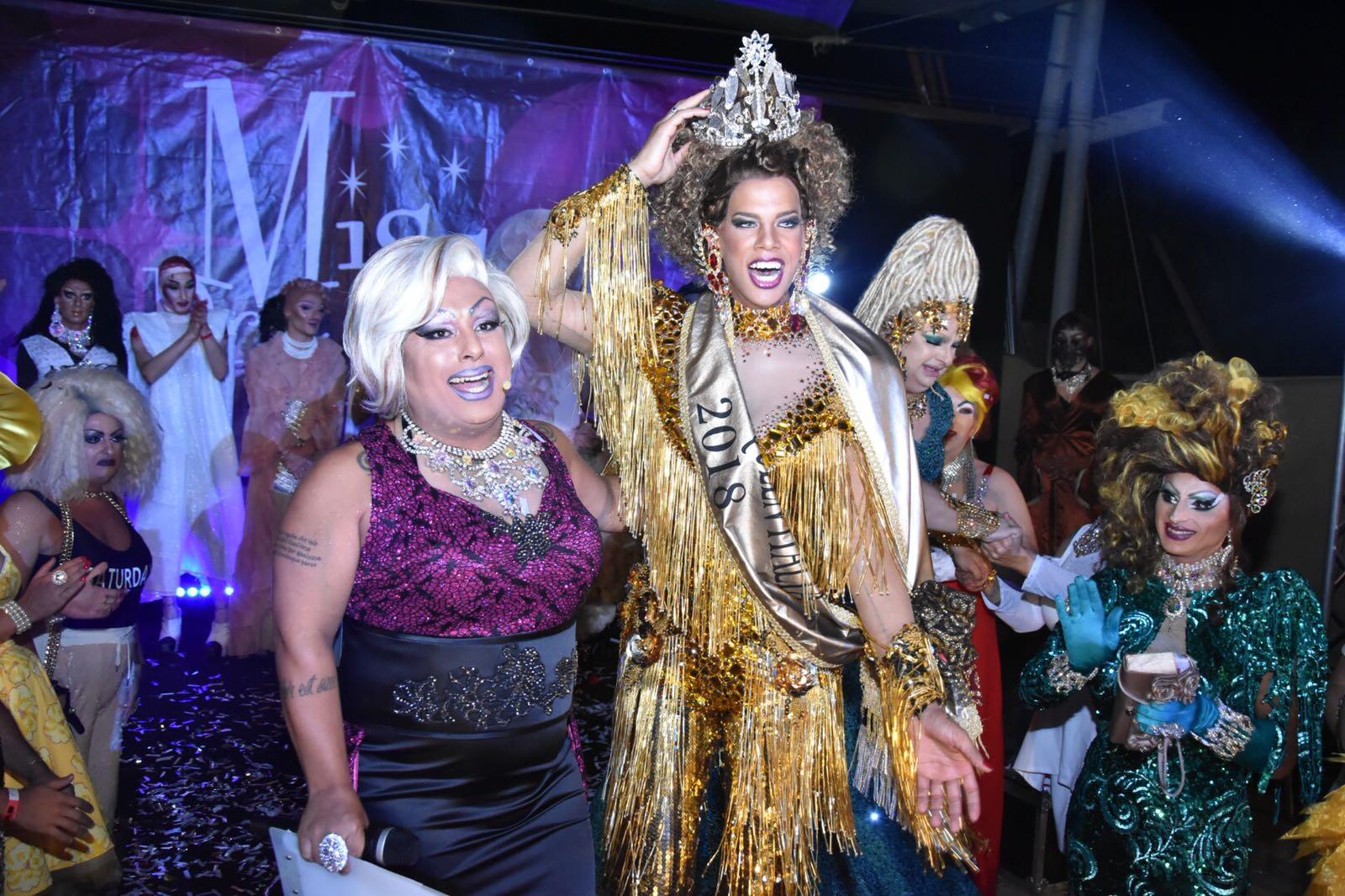 E' Marcelo Almeida, in arte Channel Monyque, la Miss Drag Queen Italia: vince la Liguria