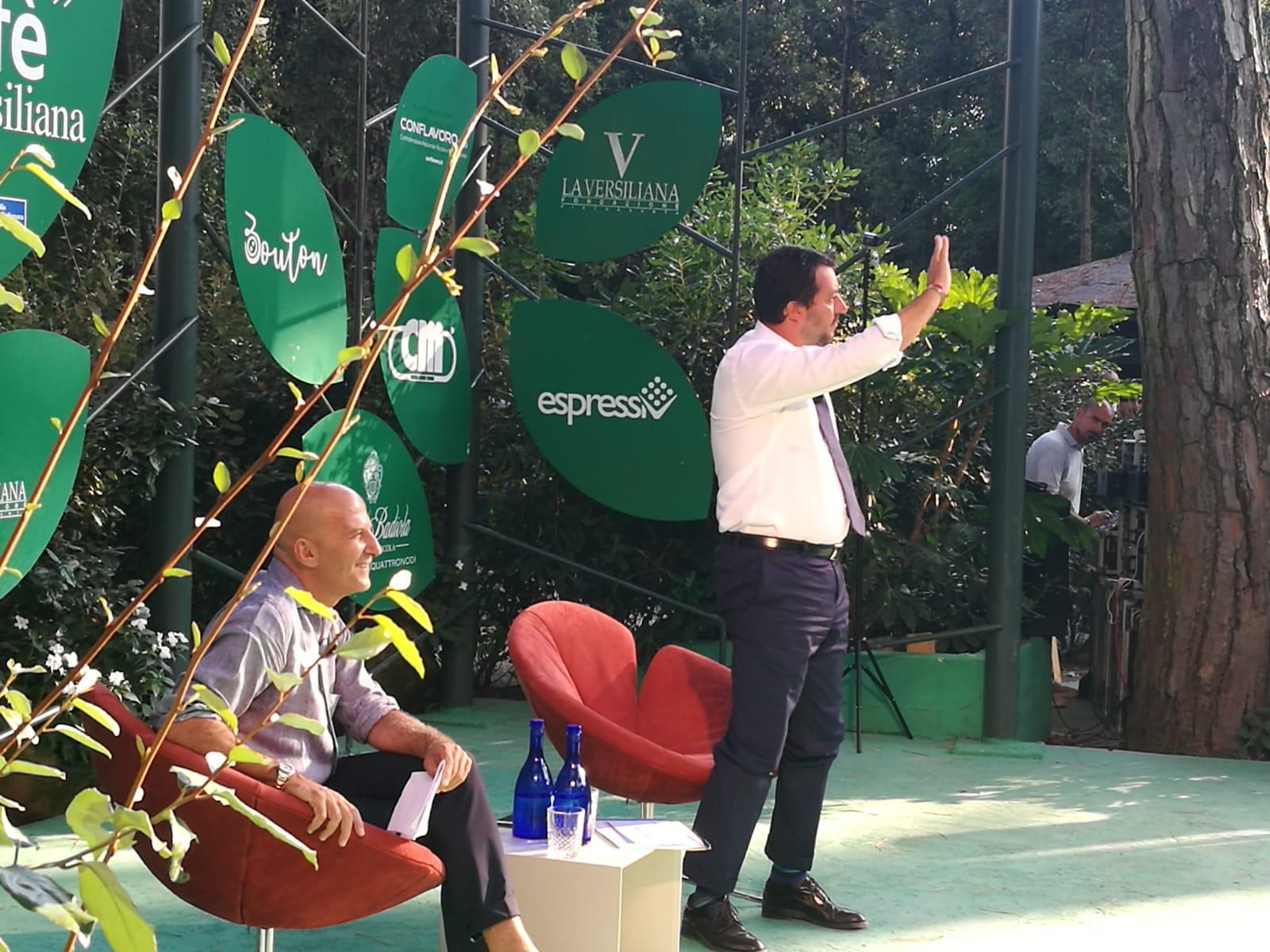 Salvini – Bocelli, incontro in Versiliana