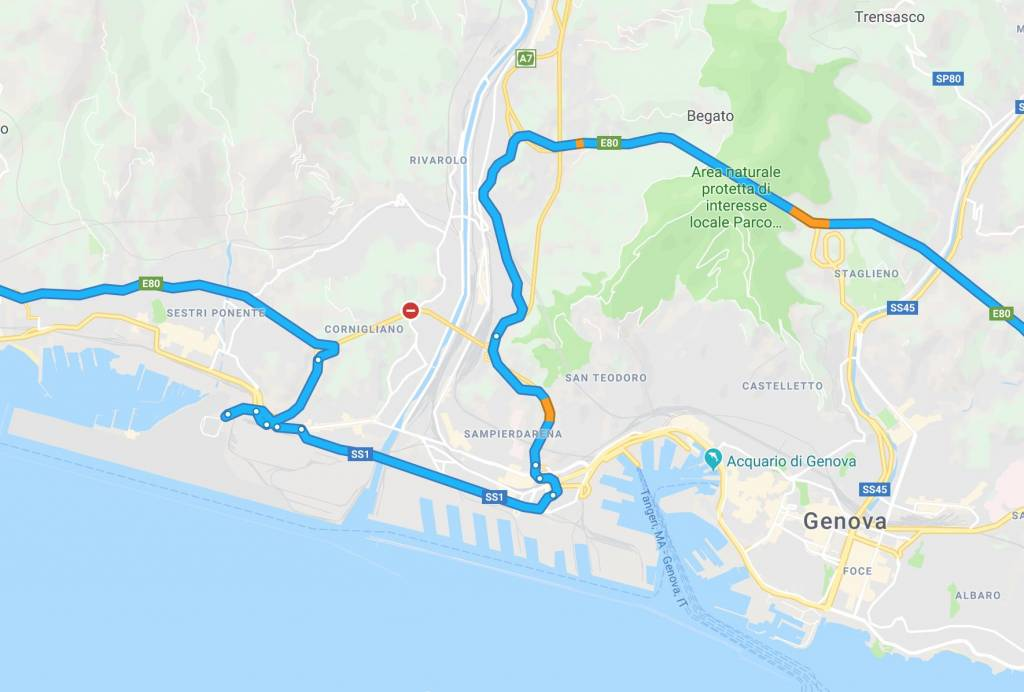 bypass Genova
