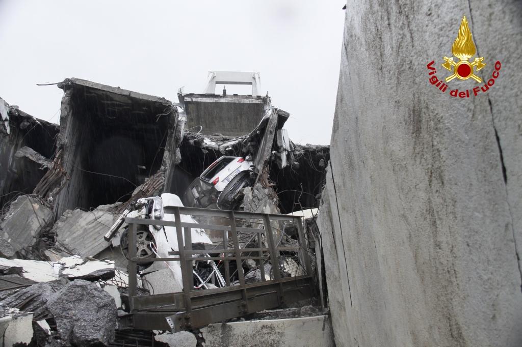 Ponte crollato: sindaci Murzi e Del Ghingaro si mettono a disposizione di Genova