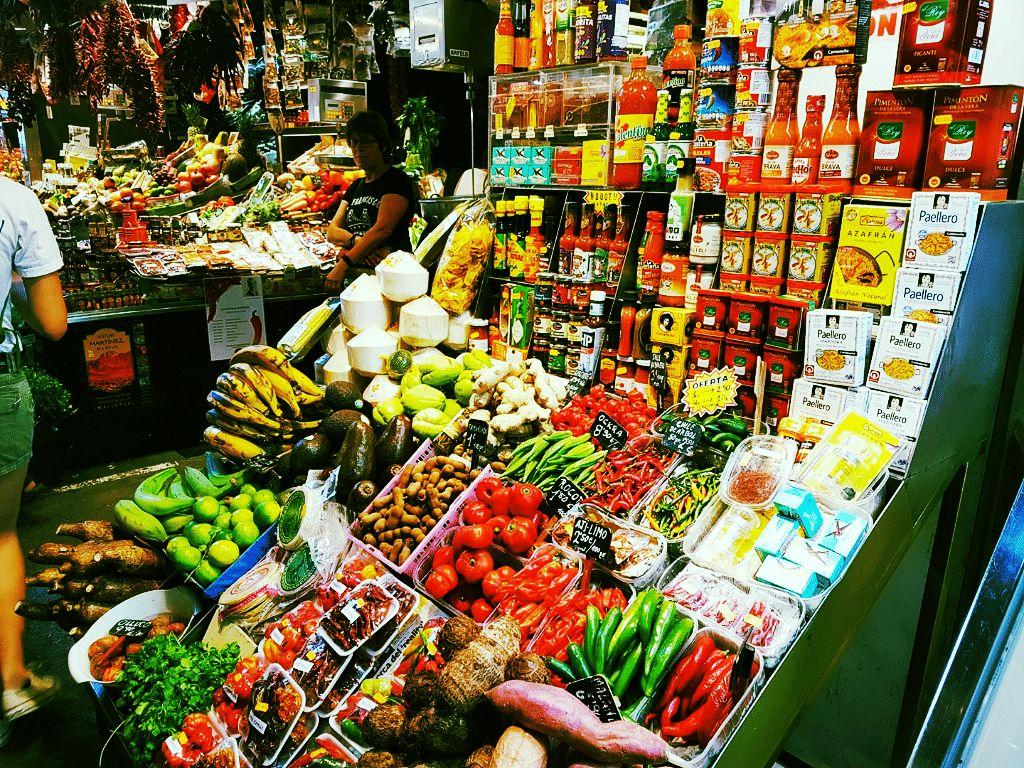 Barcellona -mercato