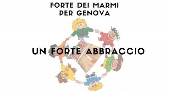 I giovani del Centro Estivo Forte Campus cantano per Genova