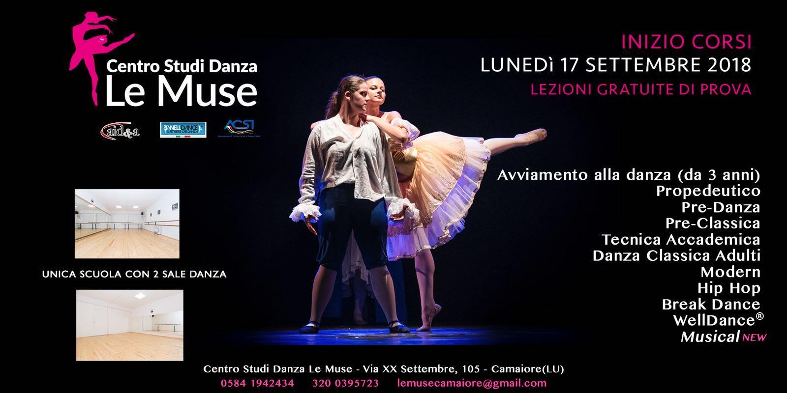 Apre la nuova stagione e il Centro Studi Danza Le Muse si rinnova