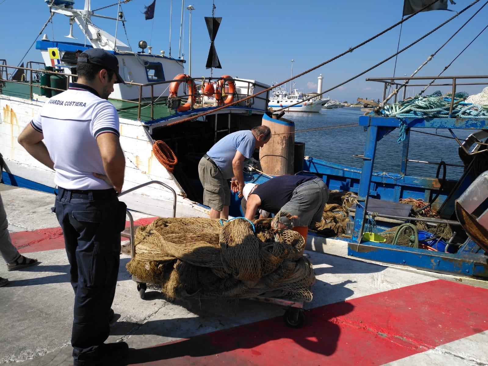 Guardia Costiera di Viareggio, controlli sulle attività di pesca: sequestri e sanzioni