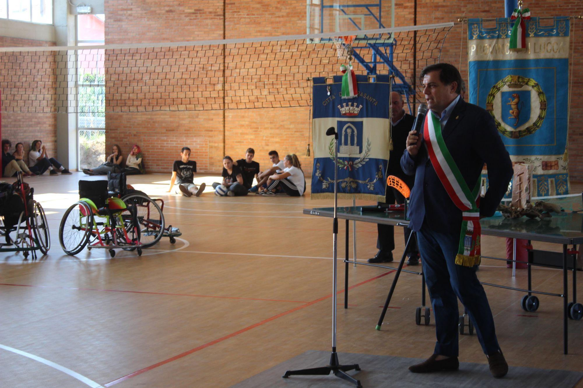 Inaugurata dalla Provincia la palestra riqualificata dello Stagi di Pietrasanta