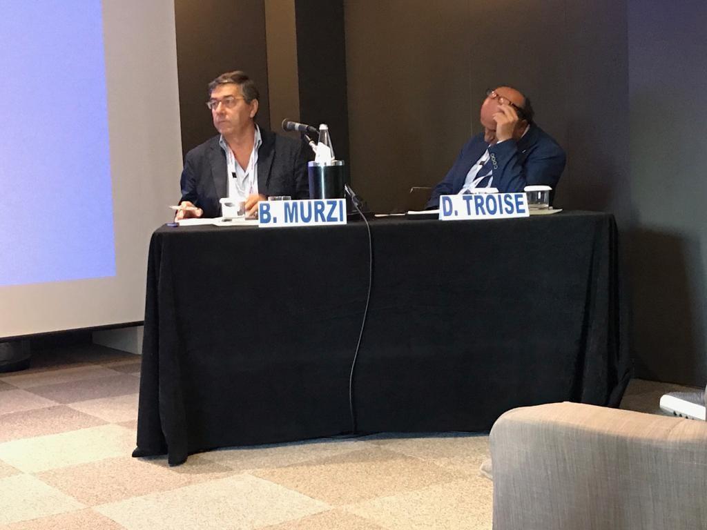 Il sindaco Murzi a Bari per coordinare un evento medico internazionale
