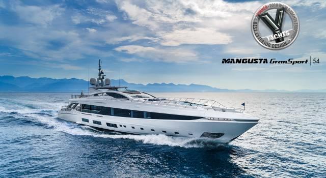 Overmarine Group si aggiudica il premio World Yachts Trophies 2018