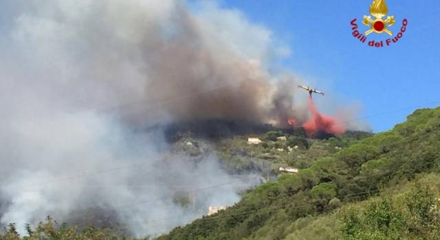 Incendio sul Serra, la Regione stanzia un milione e mezzo di euro per bonifica e salvaguardia