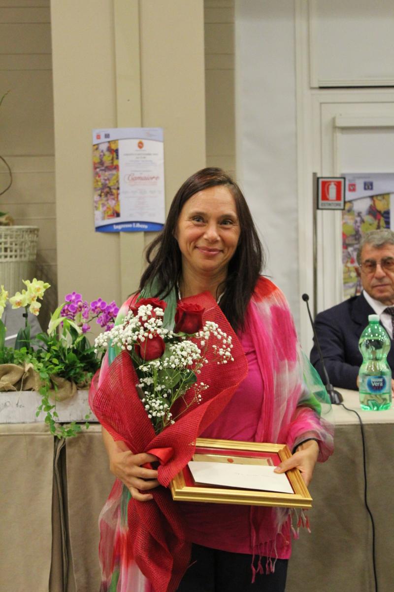 Chiara Carminati è la vincitrice del XXX Premio Letterario Camaiore Francesco Belluomini