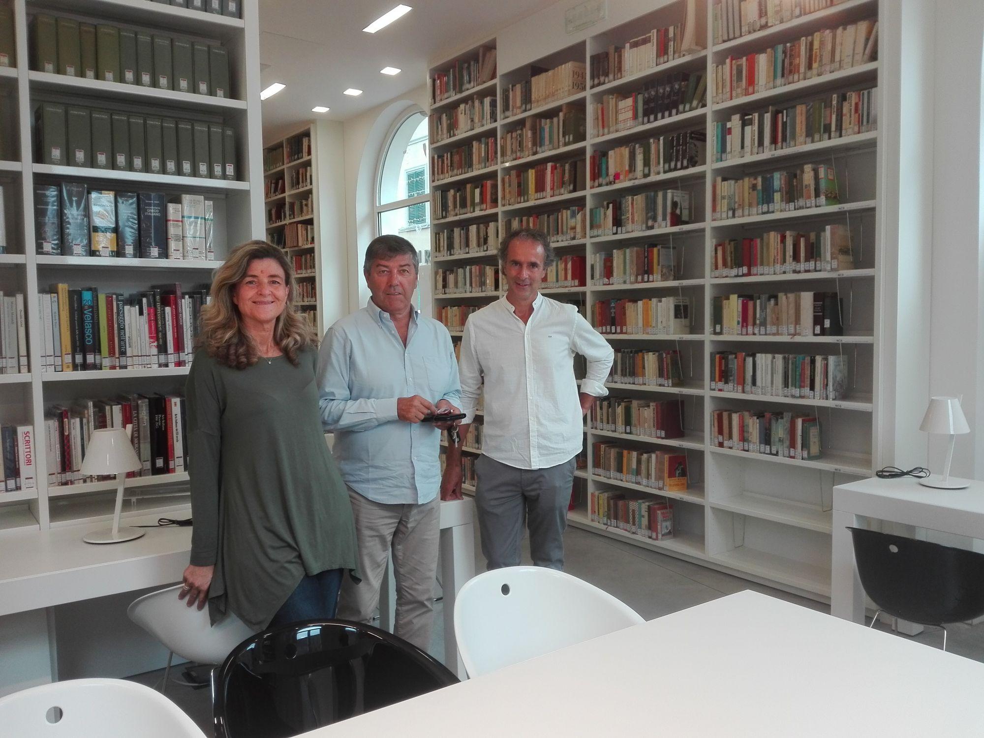 Data storica a Forte dei Marmi, la Biblioteca comunale torna a Palazzo Quartieri