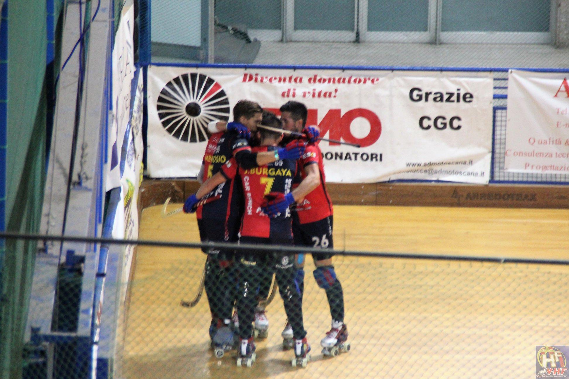 Hockey, il Forte concquista il derby: Cgc battuto per 2 a 0