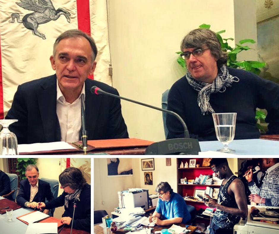 """La Regione Toscana accanto a don Biancalani: """"Un immobile per accogliere i migranti"""""""