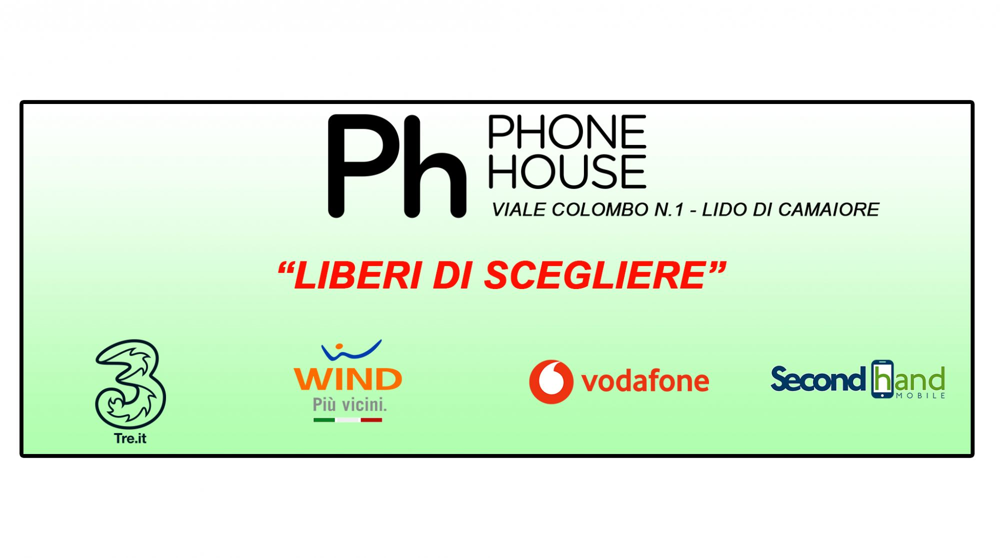 Apre a Lido di Camaiore il nuovo store Phone House