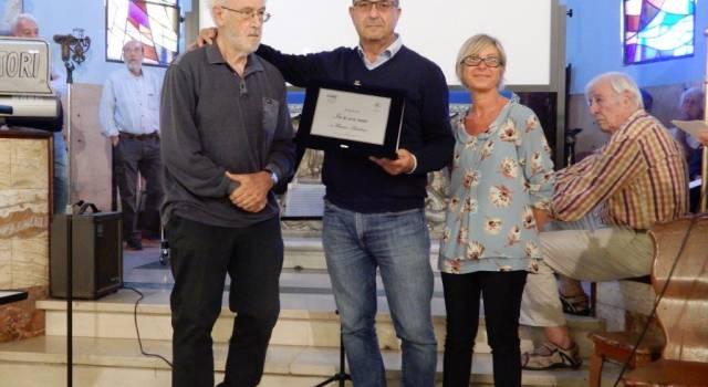 """A Franco Anichini il premio """"In te son nato"""" al Tabarracci"""