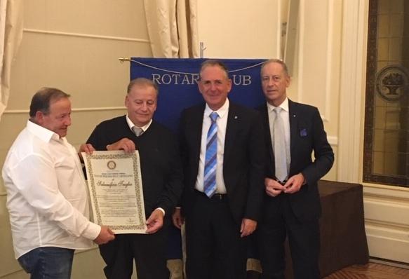 Premio Rotary al Salumificio Triglia di Gombitelli