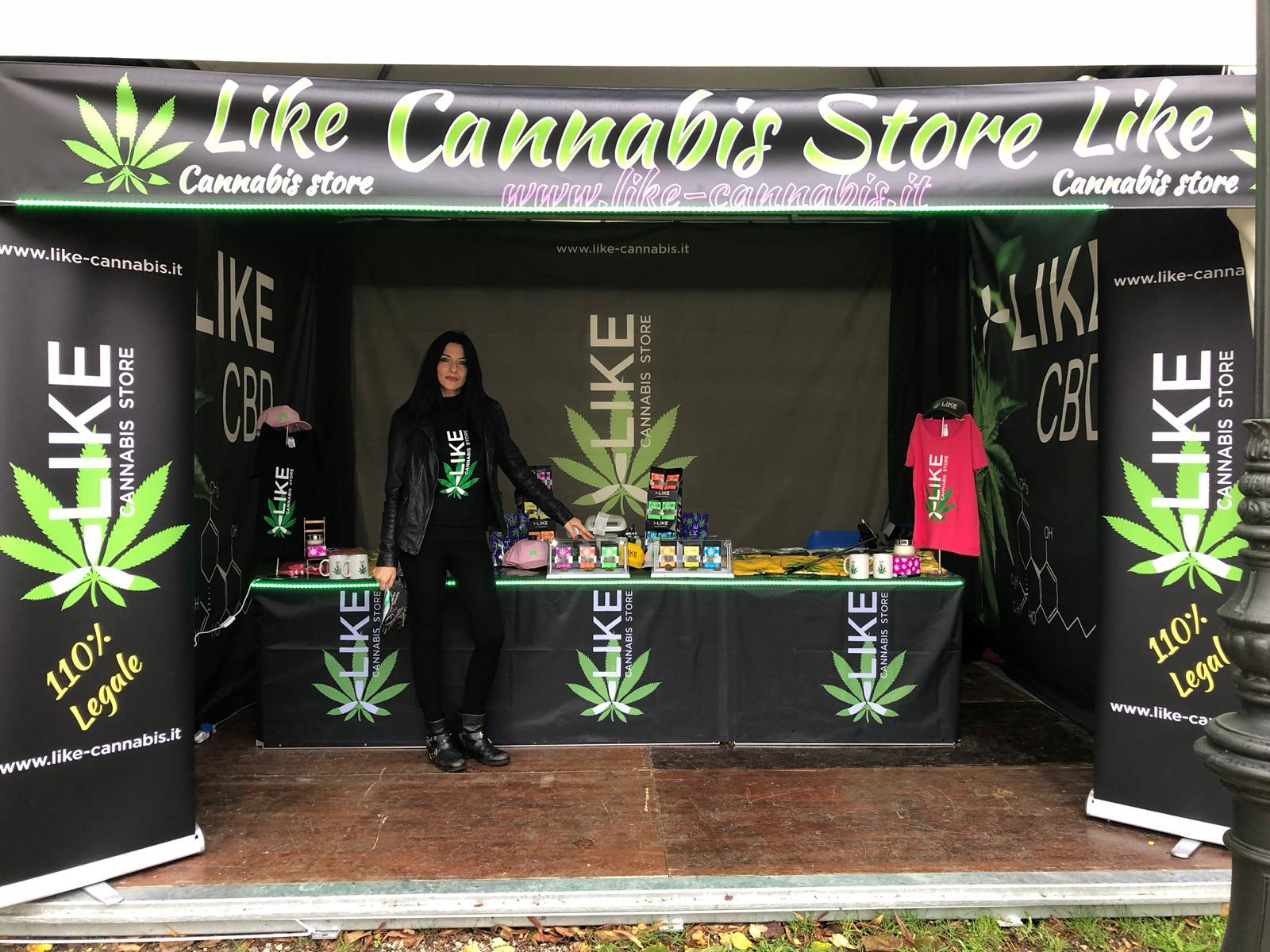 Like: c'è anche la cannabis, quella legale, a Lucca Comics and Games