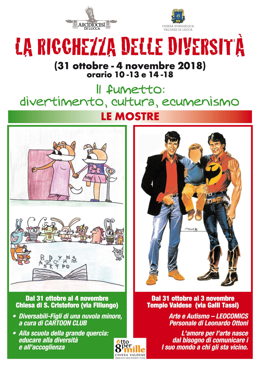 Comics e disabilità:  la ricchezza delle diversità