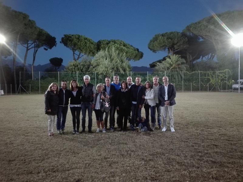 """Grande festa al campo """"Stecco Bertonelli"""", per salutare l'accensione del nuovo impianto di illuminazione"""