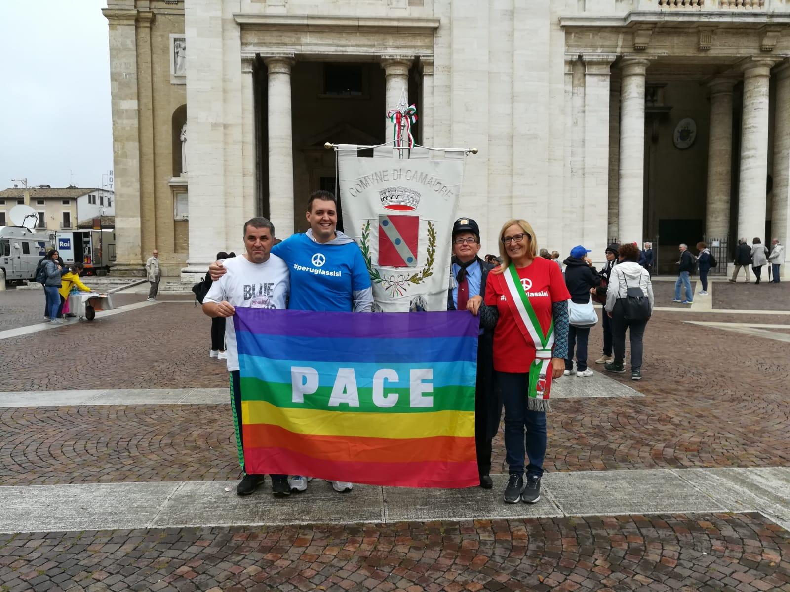 Il Comune di Camaiore alla Marcia della Pace Perugia-Assisi