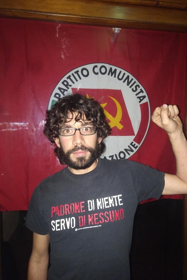Matteo Genovali è il nuovo segretario del PRC di Camaiore