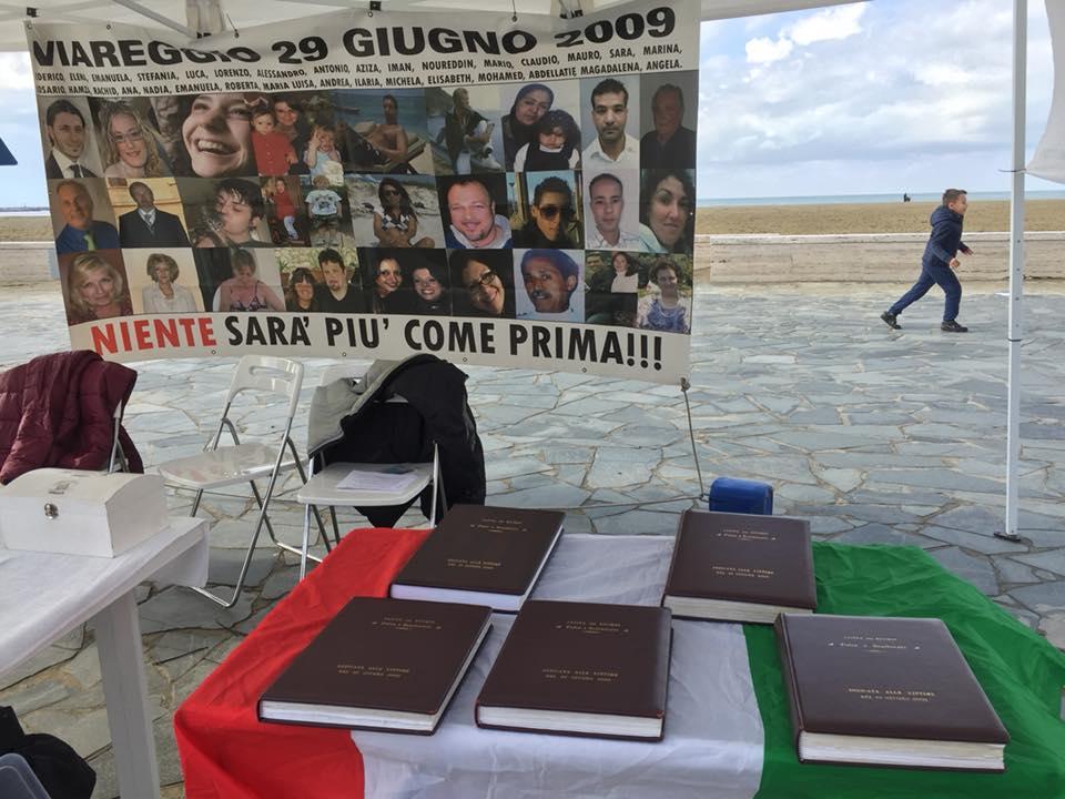 """""""Un altro schiaffo ai familiari delle vittime della strage di Viareggio"""", Il Movimento 5 Stelle Viareggio fa quadrato attorno al """"Mondo che vorrei"""""""