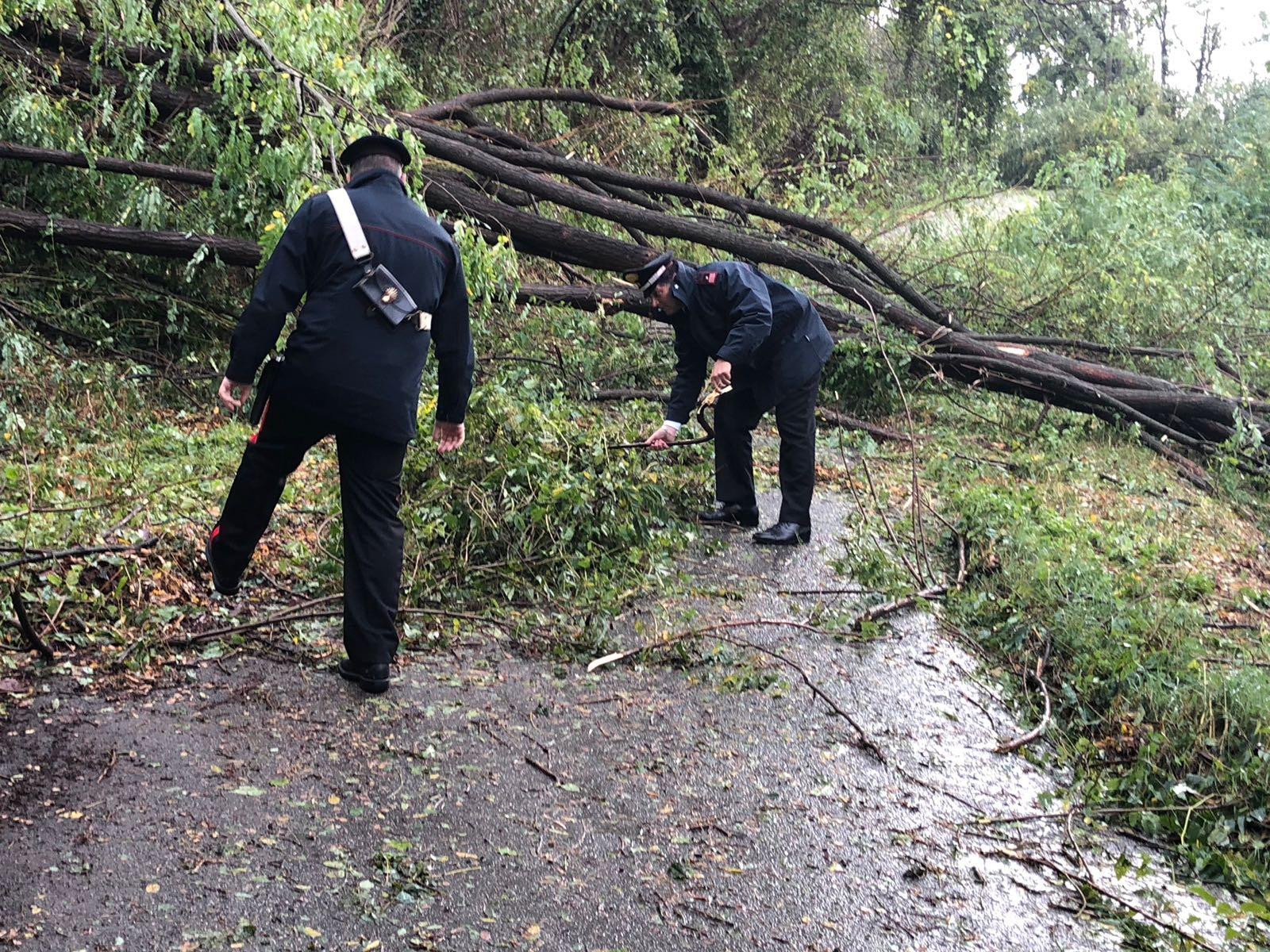Maltempo in Lunigiana, il contributo dei Carabinieri