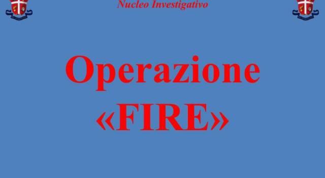 Operazione Fire, arrestato un dirigente dei Vigili del Fuoco
