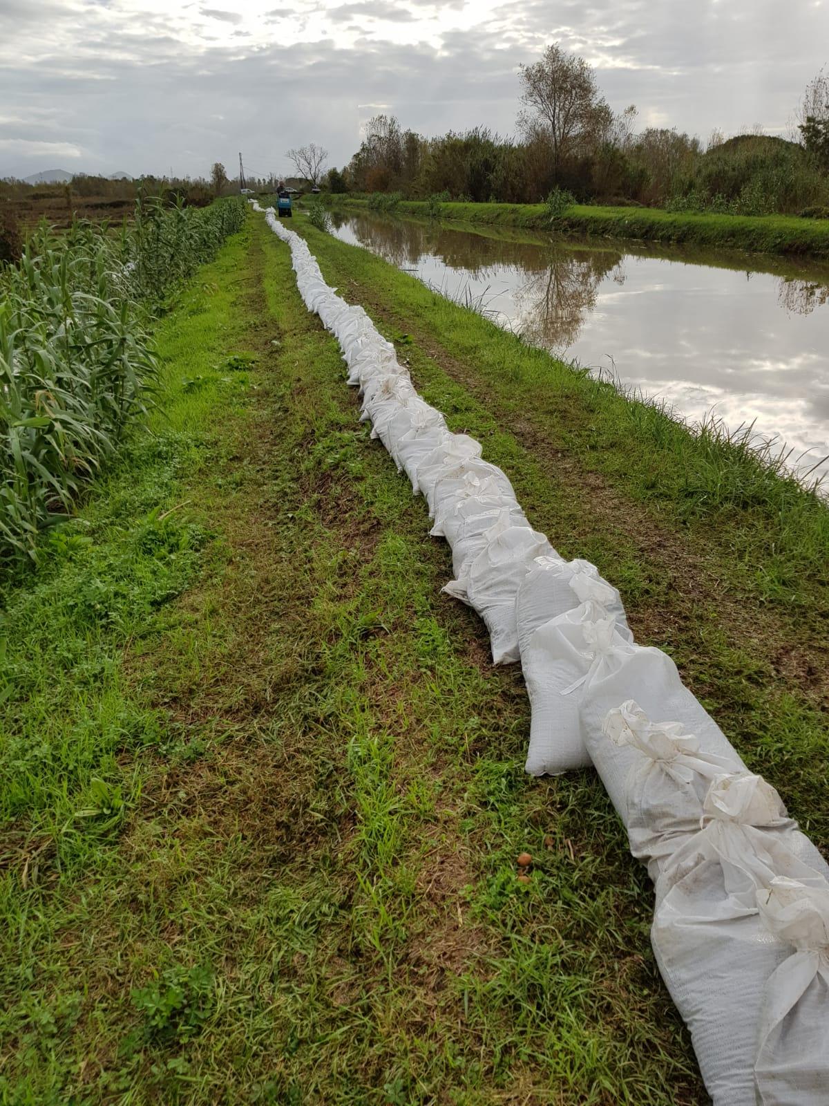 Maltempo in Versilia, dopo la pioggia la conta dei danni