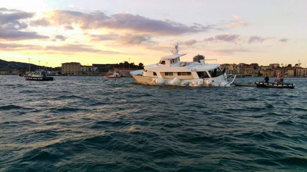 Recupero barca paortoferraio
