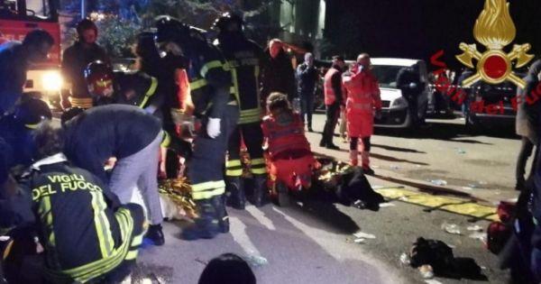 Spray al peperoncino, tragedia in discoteca: sei morti nel fuggi fuggi