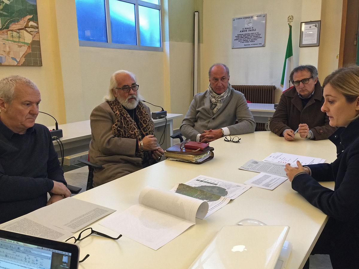Rupe di Corvaia: firmata la convenzione pubblico-privato per il recupero dell'area