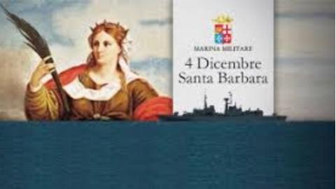 Santa Barbara, la Marina Militare celebra la sua patrona