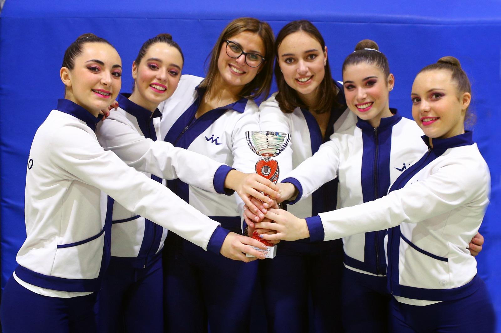 Ginnastica Motto protagonista nel trionfo della Toscana al Torneo delle Regioni Silver
