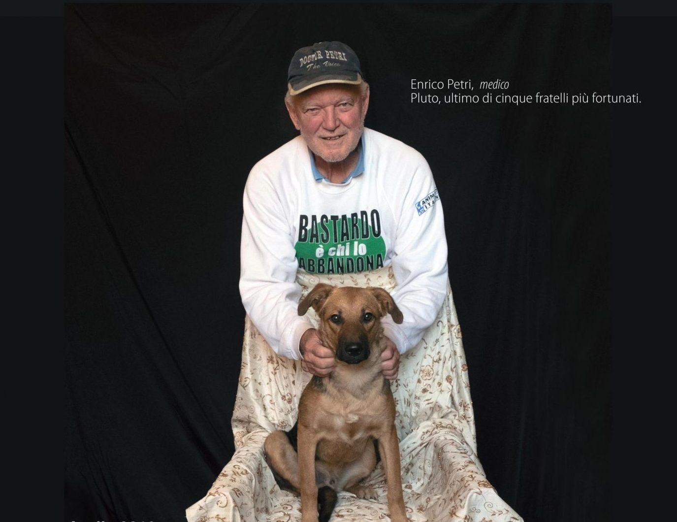 Un calendario per aiutare i cani della L.I.D.A.Versilia, nei clic anche il dottor Petri!