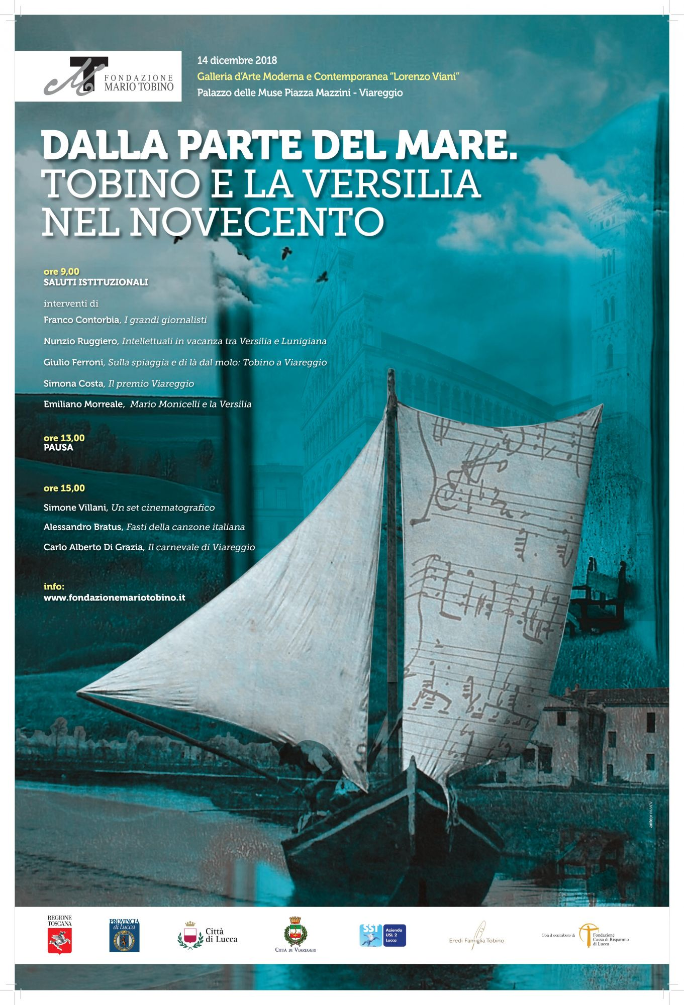 """""""Dalla parte del mare. Tobino e la Versilia nel Novecento"""", appuntamento alla Gamc"""