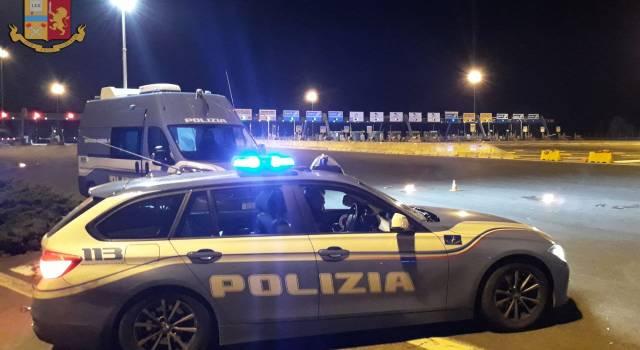 Polstrada, 1.245 veicoli controllati e 1.557 persone identificate