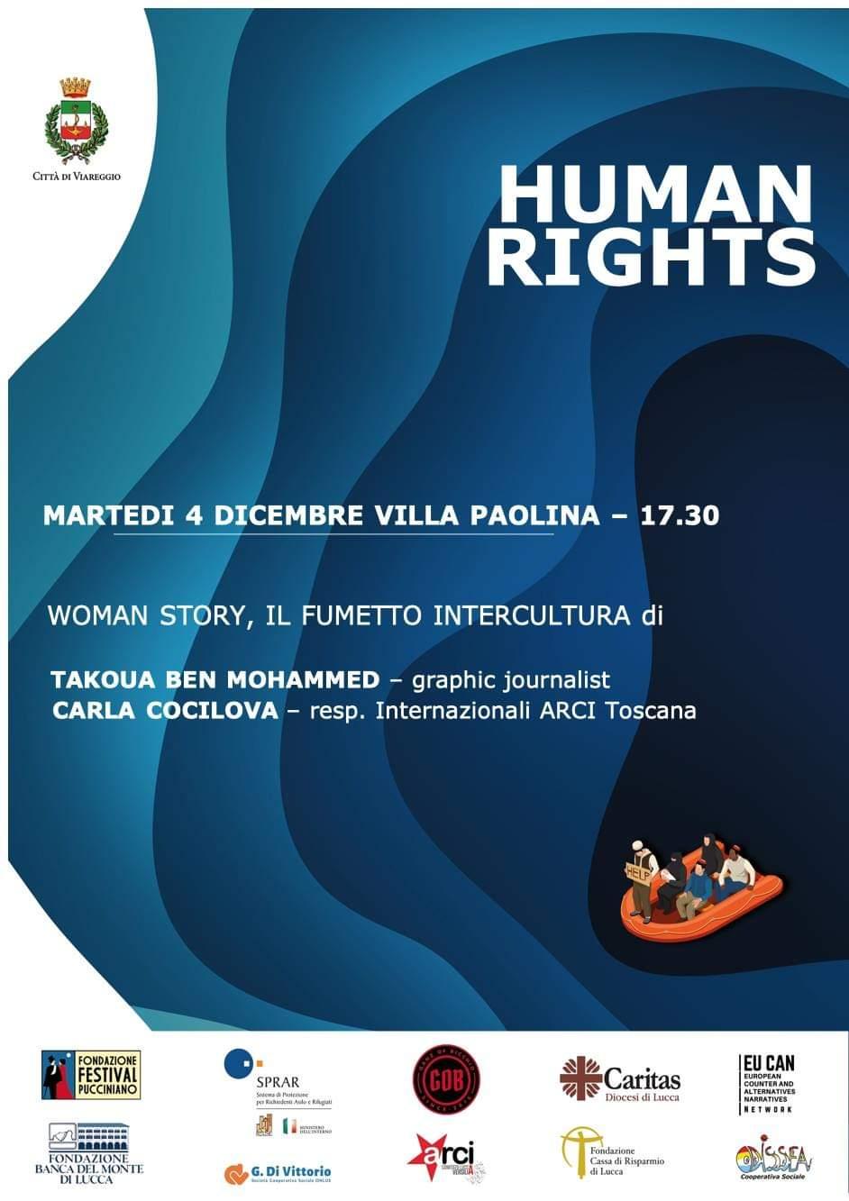 Rights4All, oggi a Villa Paolina