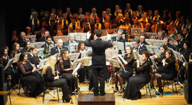 Camaiore, concerto augurale della Filarmonica Giacomo Puccini