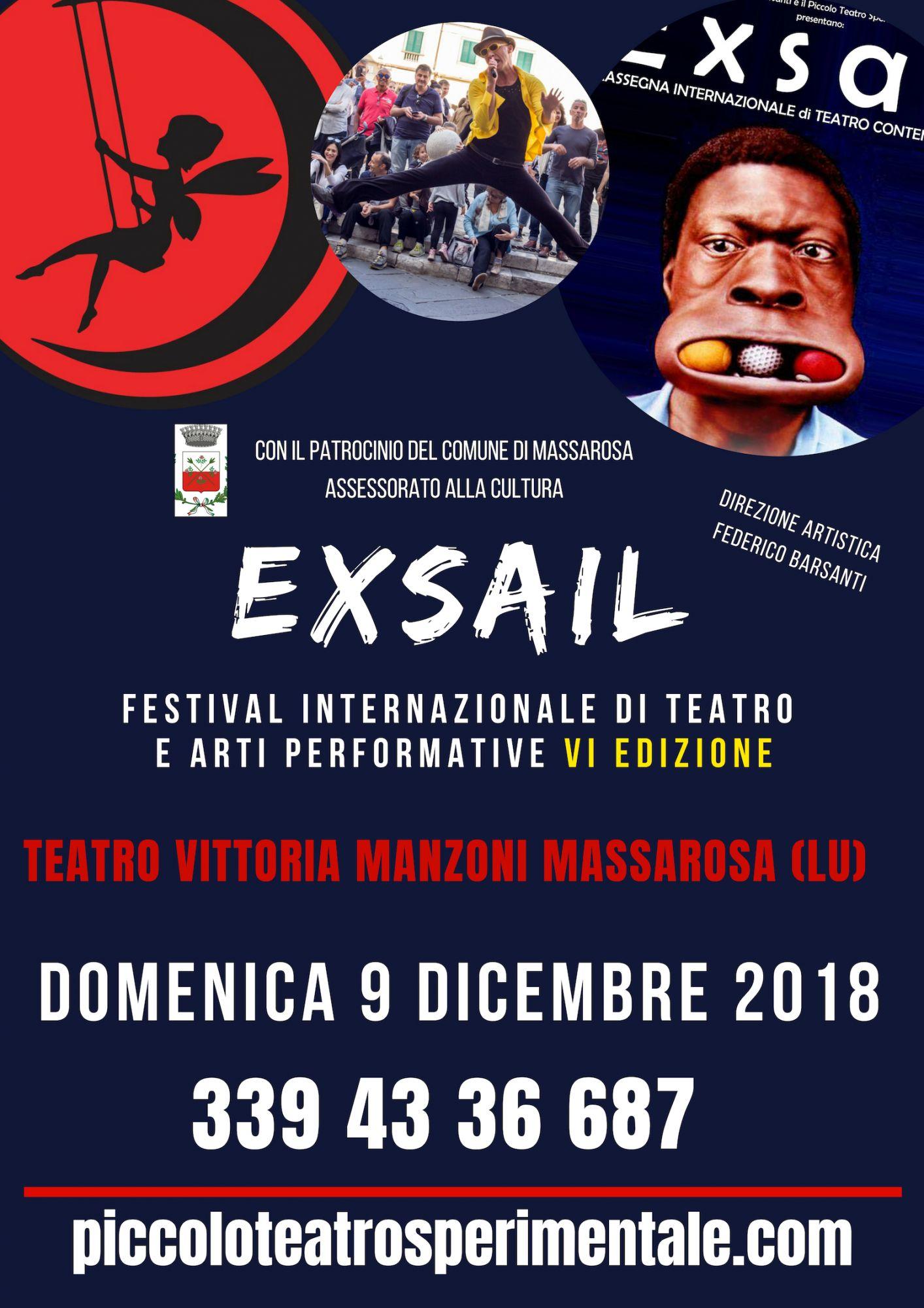 """Al via il Festival Internazionale """"Exsail"""""""