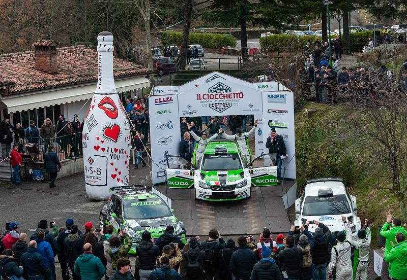 Scandola e D'Amore si aggiudicano il 27mo Ciocchetto Rally Event