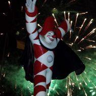 Fuochi d'artificio straordinari al Carnevale, dopo il corso di sabato 23 febbraio