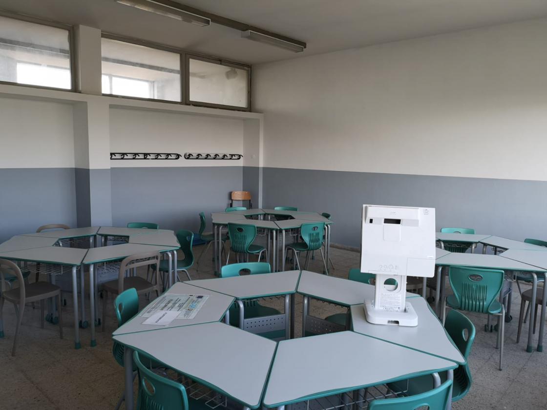 Al Piaggia pronte le aule per ospitare gli studenti del Marconi