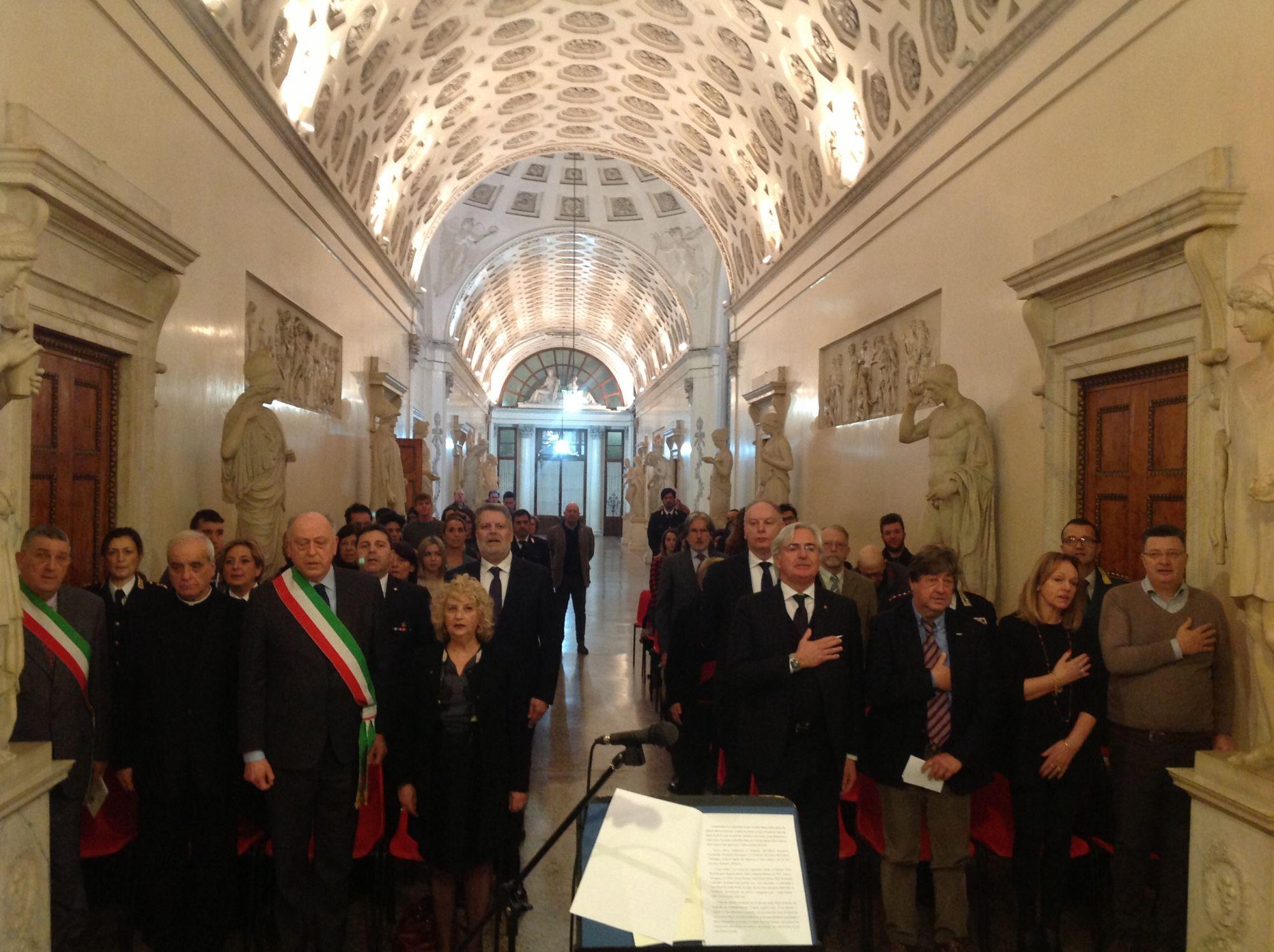 In ricordo della Shoah, medaglia alla memoria di Luigi Biagi militare deportato