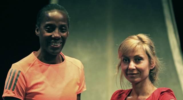 Maratona di New York, Fiona May e Luisa Cattaneo in scena al teatro Jenco di Viareggio