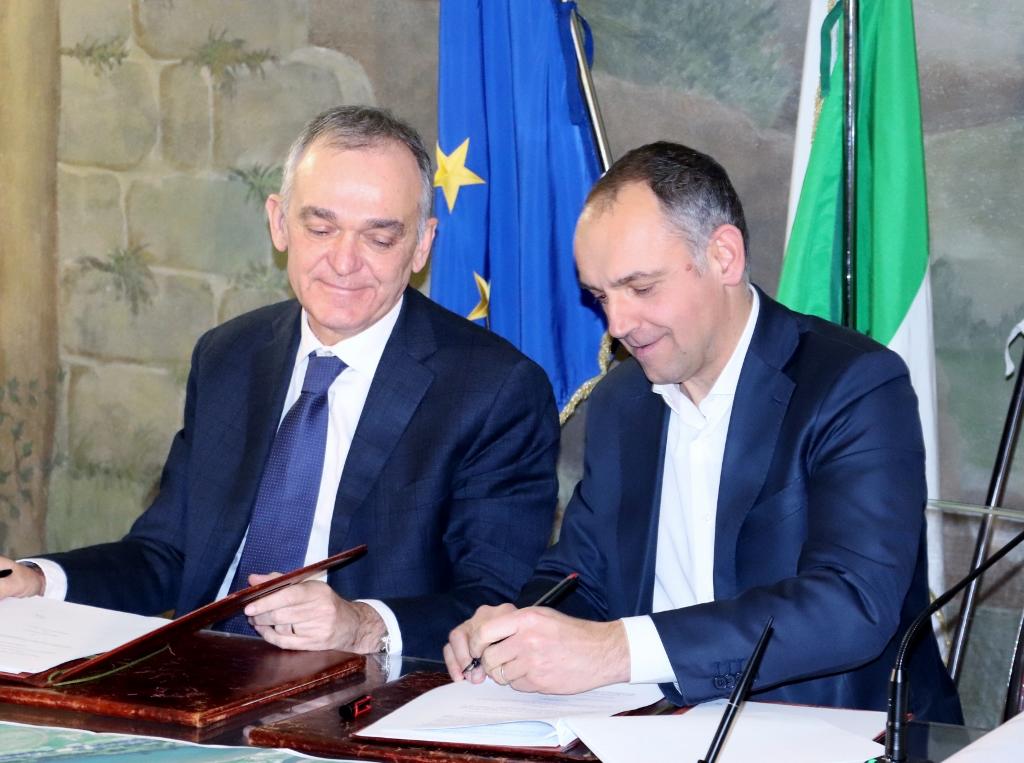 Nuovo ponte sul Serchio, Rossi e Menesini firmano un accordo da 15 milioni di euro