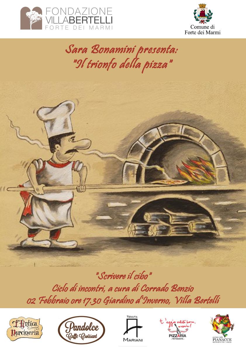 """""""Il trionfo della pizza"""" alla rassegna Scrivere il cibo"""