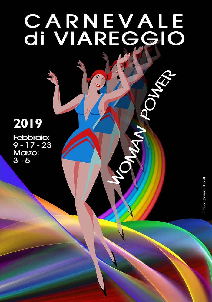 Brindisi e musica per il Carnevale di Viareggio 2019 la sera di venerdì 8 febbraio