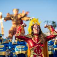 Carnevale di Viareggio, nel 2020 sei corsi in maschera